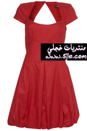 موديلات فساتين بسيطه وناعمه 2012