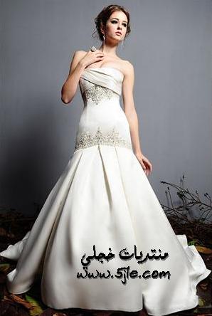 موديلات فساتين اعراس 2012