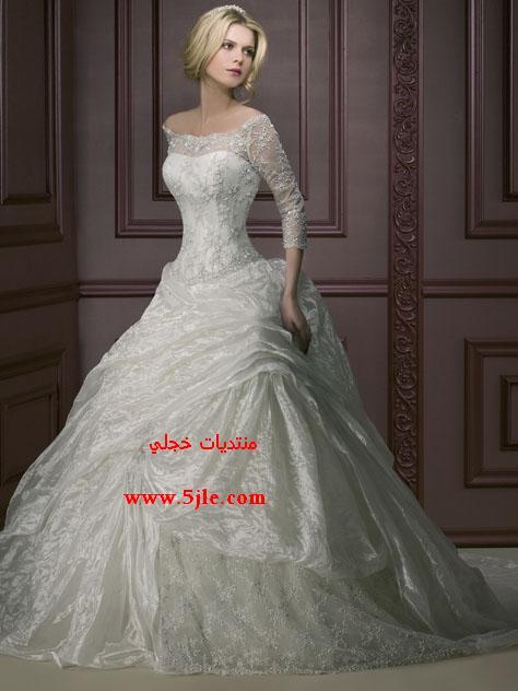 فساتين زفاف خفيفه 2012