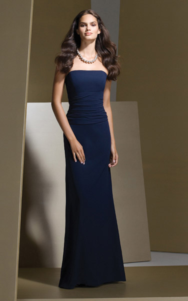 فساتين ناعمة 2012 اجمل الفساتين