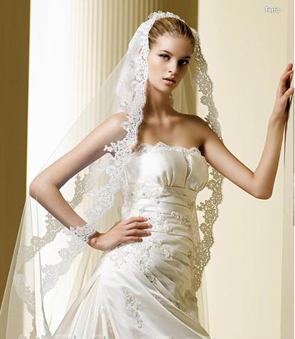 فساتين زواج فرنسيه 2012 فساتين