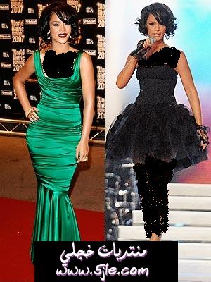 فساتين ريانا 2012 Rihanna 2012
