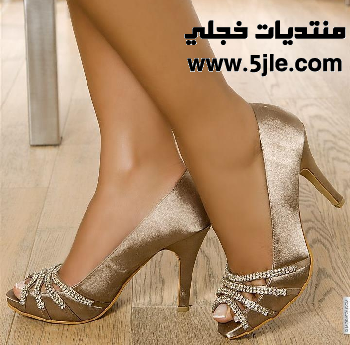 احذيه سهرات 2012 احذيه نسائيه