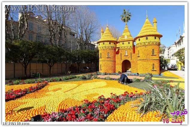 مهرجان الليمون فرنسا