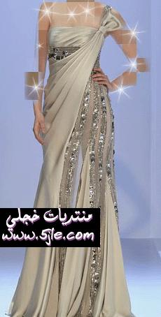 فساتين زواج ناعمه 2012