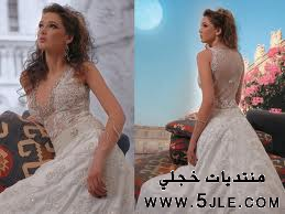 فساتين زفاف شيفون 2012