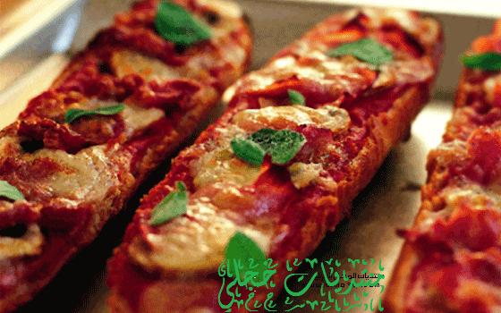 طريقه البيتزا الفرنسيه