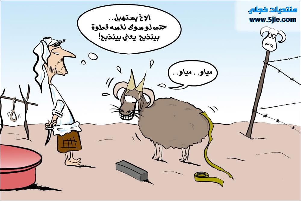 كاريكاتير الأضحى منوعه 2012